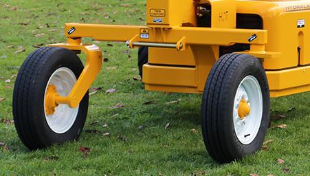 Twin Castor Rear Wheels