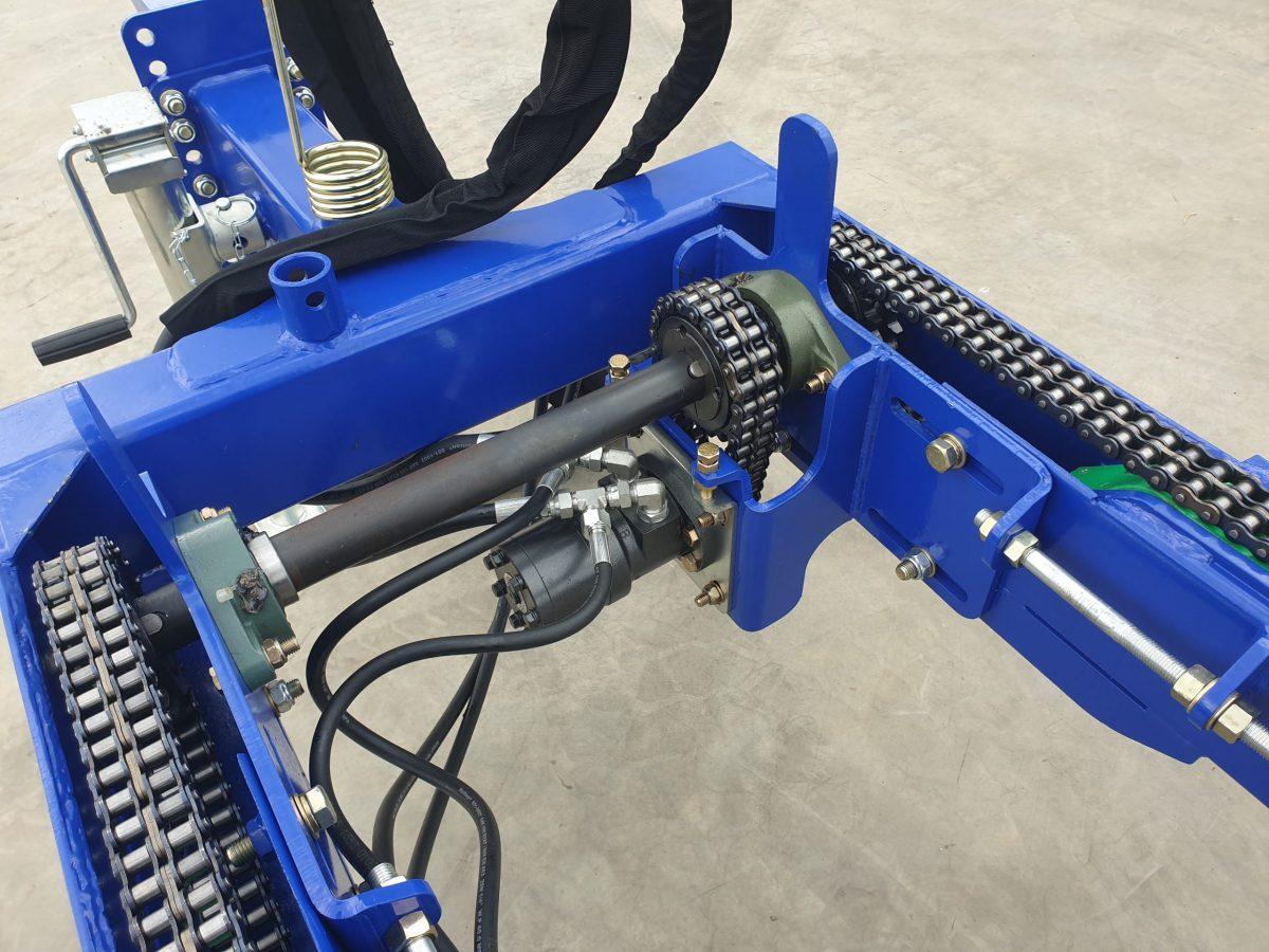 Heavy Duty main crank axle
