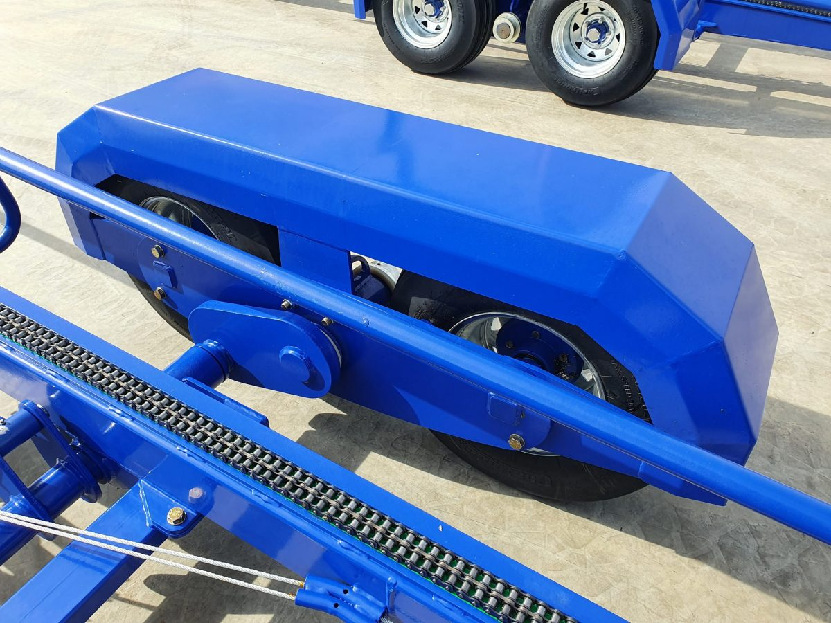 Tandem Rocker Axle for a smooth ride