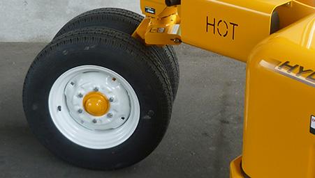 Dual Castor Rear Wheels